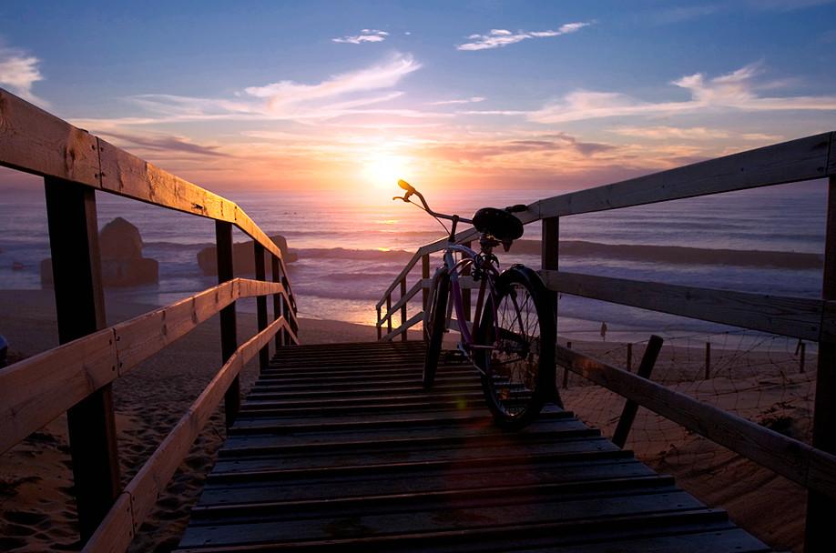 Hossegor France Sunset