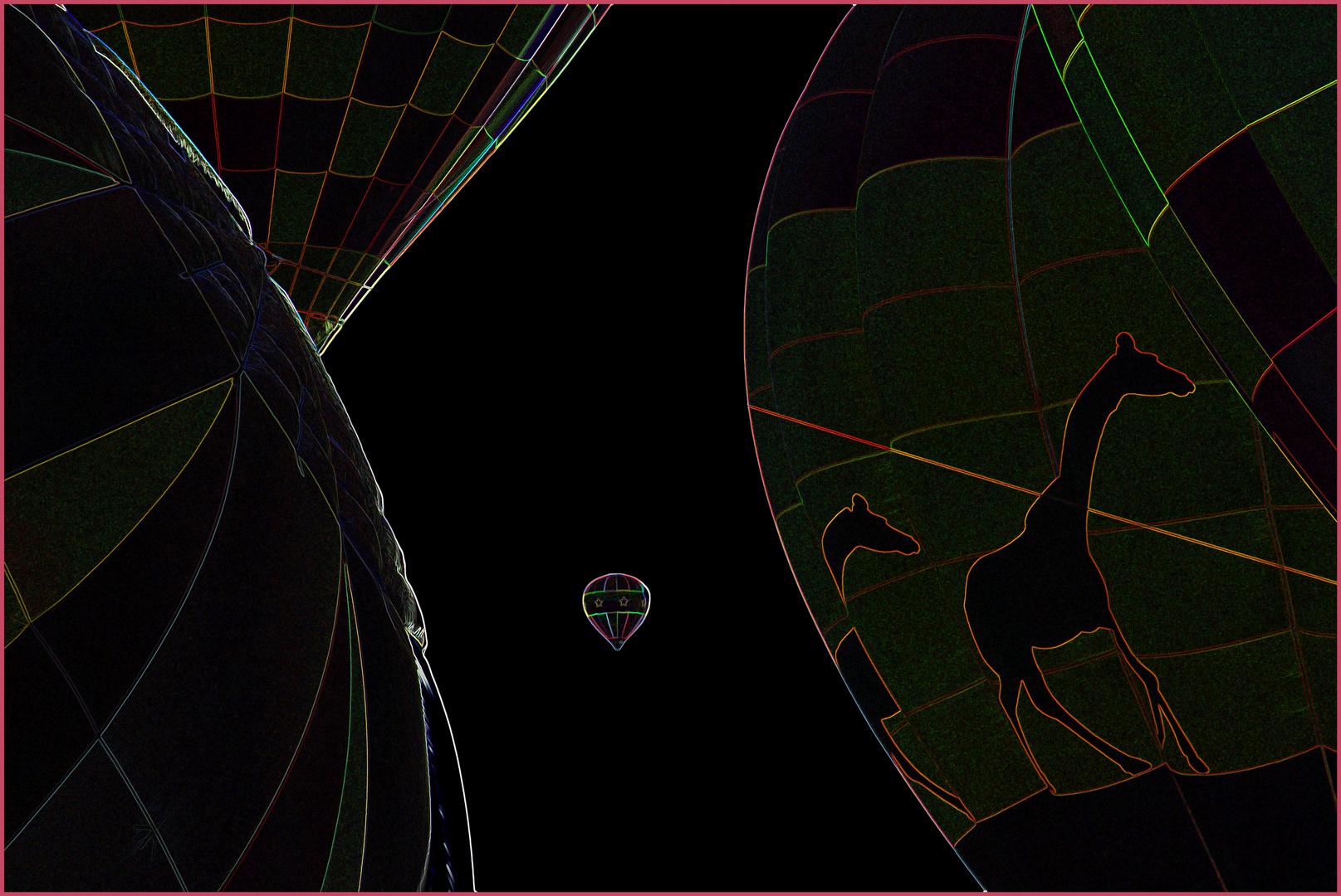 Hot Air Balloons, Stowe, Vt.,