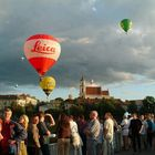 hot air balooning in Vilnius