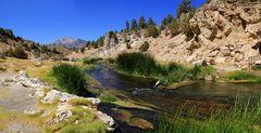 Hot Creek im Long Valley