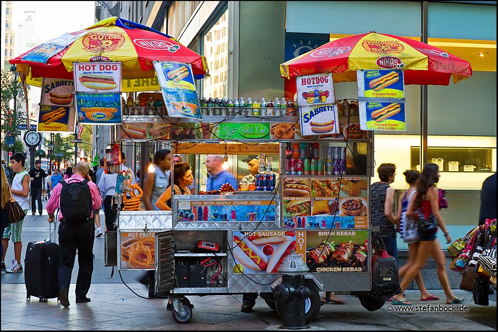 Hot Dog, New York City Serie XXXVI