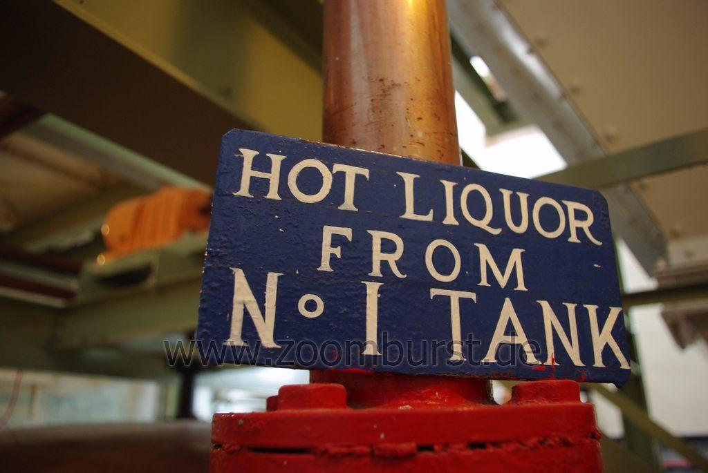 HOT LIQUOR FROM No. 1 TANK