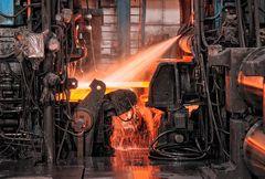hot steel rolling