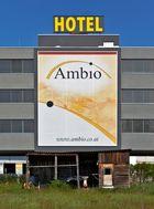 Hotel Ambio - vorerst mit ungewöhnlichem Entree!
