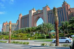 Hotel Atlantis auf Palm Jumeirah in Dubai