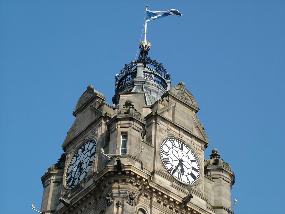 "Hotel ""Balmoral"" in Edinburgh, Scotland"