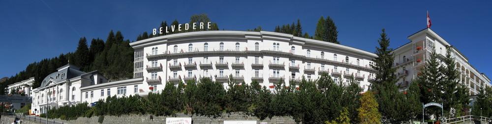 Hotel Belverdere in Davos Okt 06