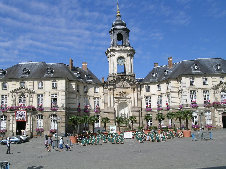 Hotel de ville Rennes