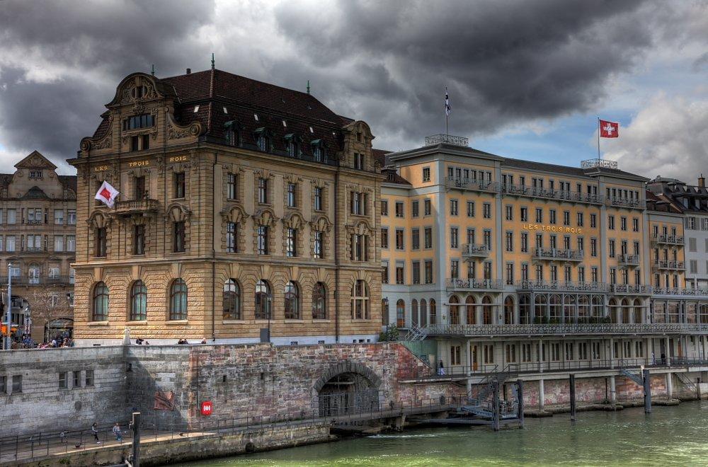 Hotel Drei König Basel Schlechtwetter