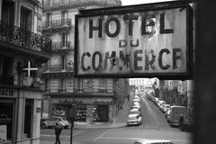 HOTEL DU COMMERCE - Paris Quartier Latin - 1971