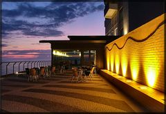 Hotel Golf Mar. Fine giornata.