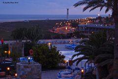 Hotel Iberostar Playa Gaviotas bei Dämmerung