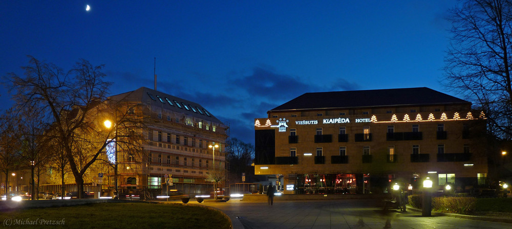 Hotel Klaipeda und Kempinski Hotel Vilnius (Litauen)