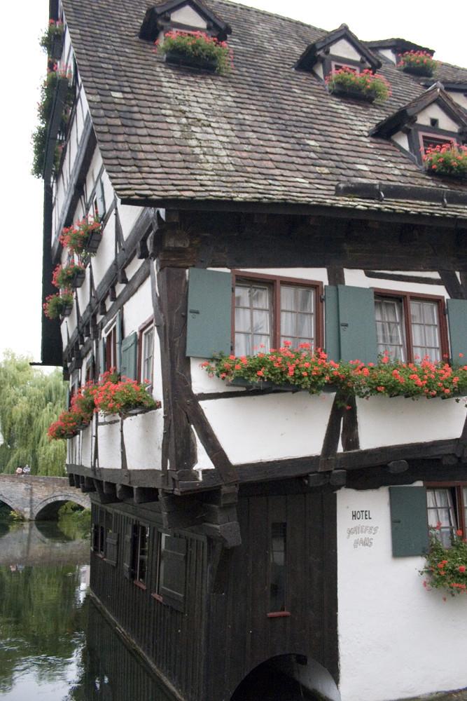Hotel Schiefes Haus in Ulm Foto & Bild