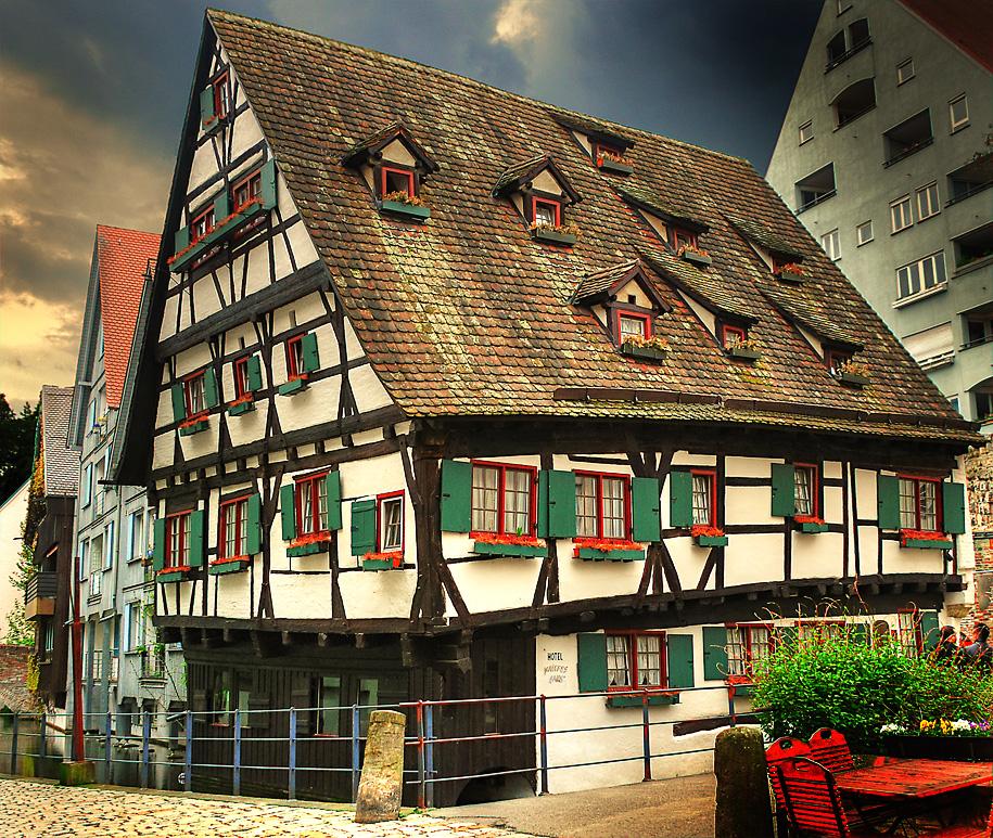 """Hotel """"Schiefes Haus"""" Ulm Foto & Bild"""