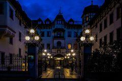 Hoteleingang...