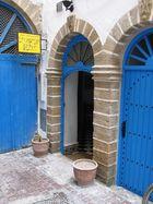 Hoteleingang in Essaouira/Marokko
