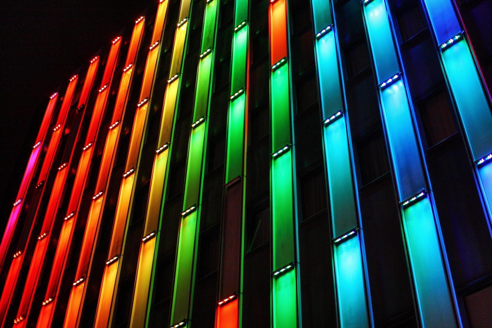 Hotelfassade in Essen