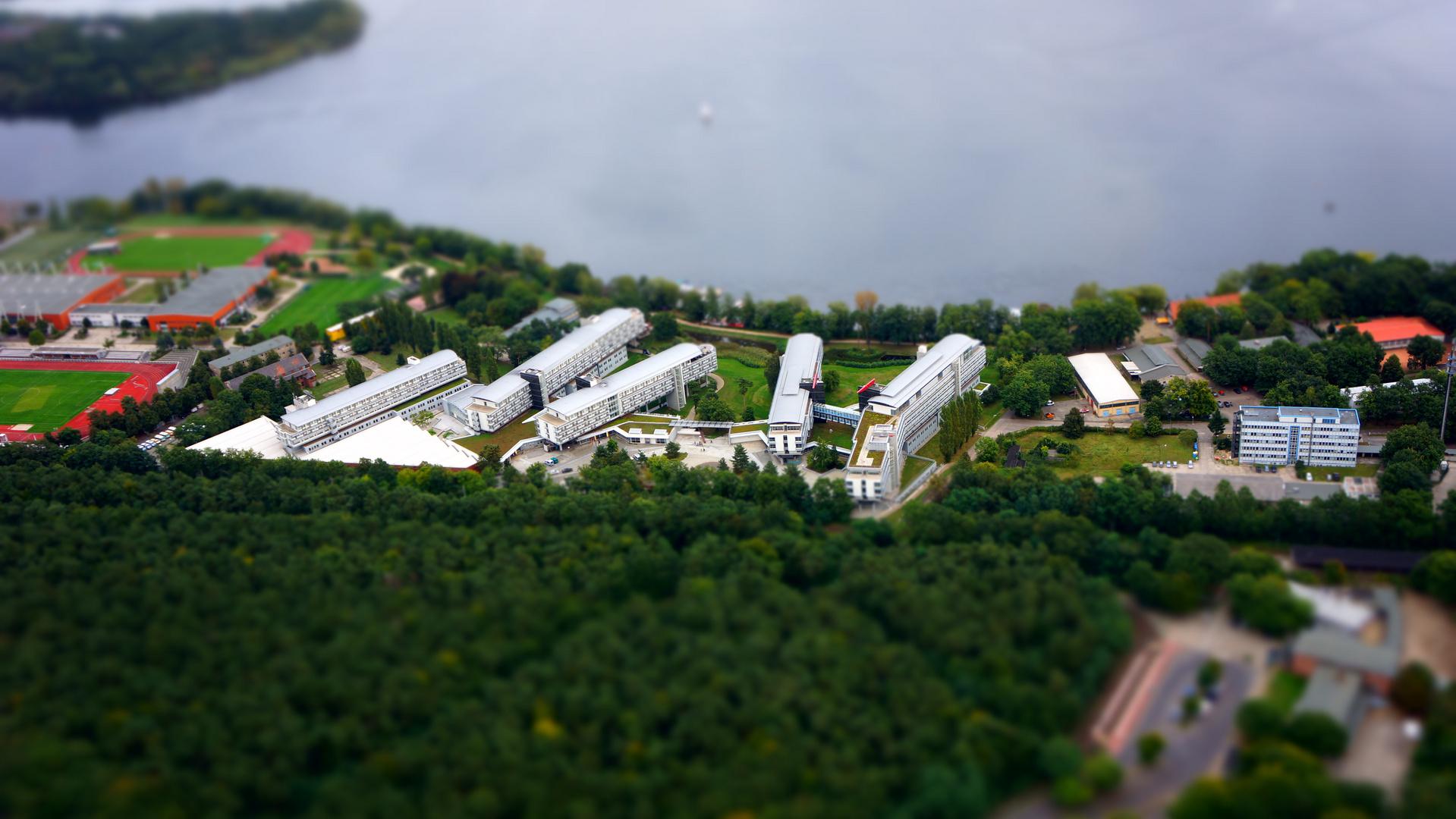 Hotelkomplex an der Pirschheide in Potsdam