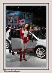Hotesse Fiat salon 2010