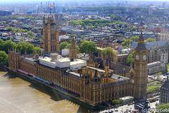House of Parliament von oben