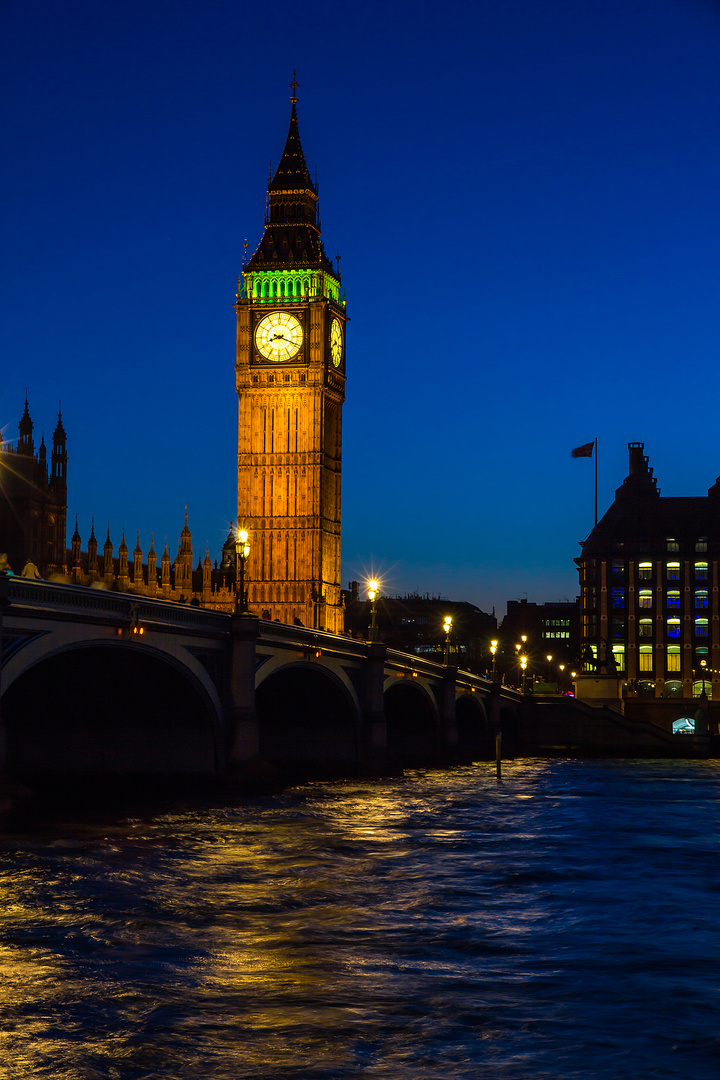 Houses of Parliament - Clock Tower