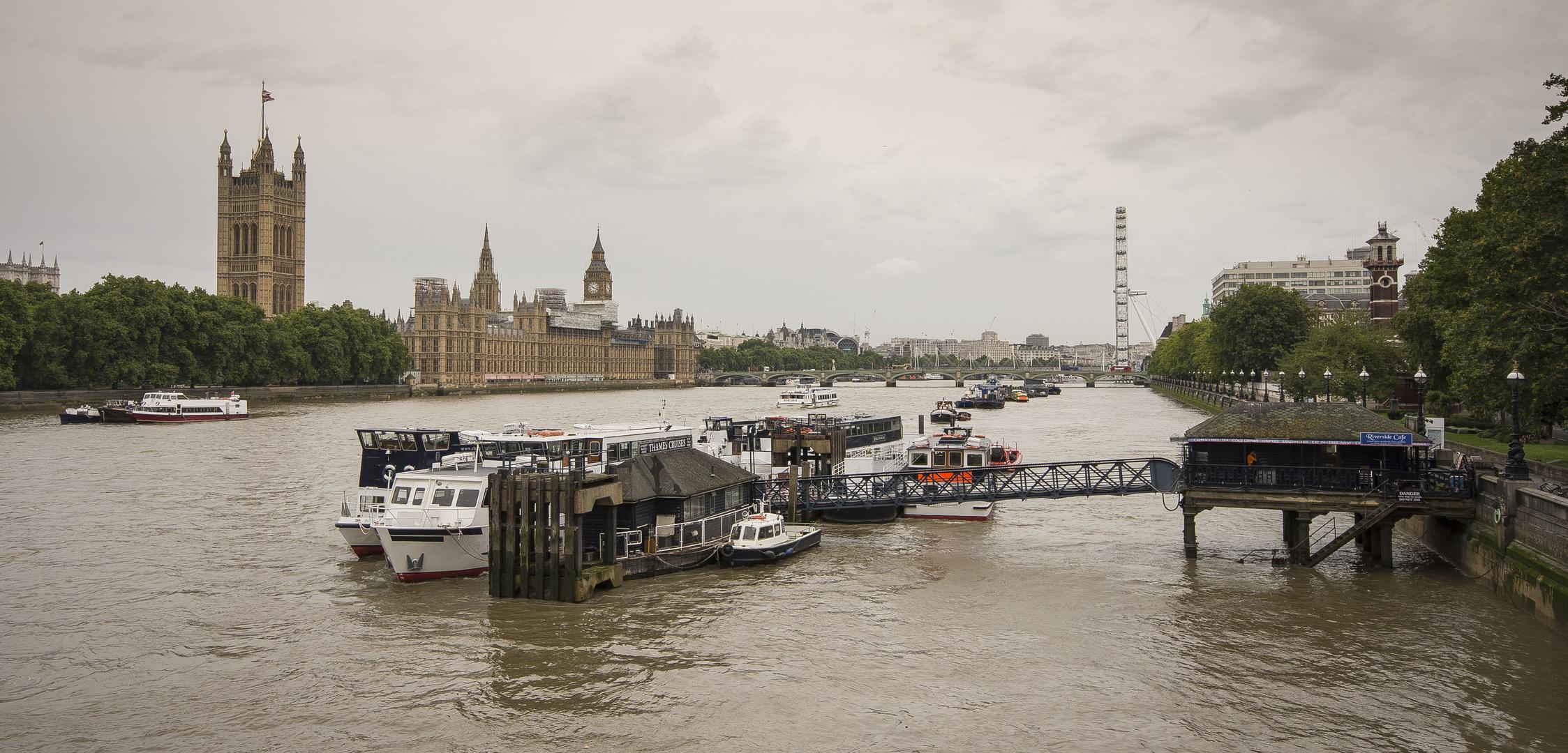 Houses of Parliament seen from Lambeth Bridge - 06