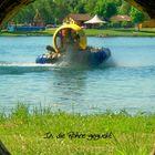 Hovercraft - Am Rande der Strecke kanns auch einfach lauschig sein....