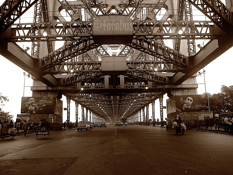 Howrah Bridge Kolkata India Photo Image Architecture