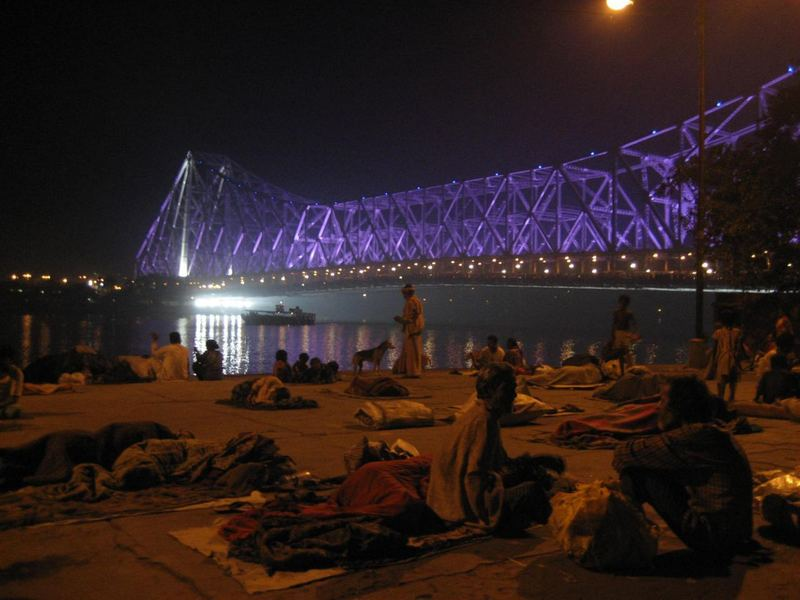 Howrah-Brücke in Kolkata