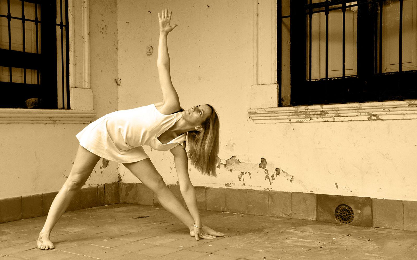 Hoy toca yoga.