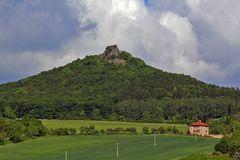Hradek im Böhmischen Mittelgebirge 566m hoch
