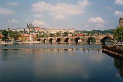 Hradschin Prag und die Karlsbrücke