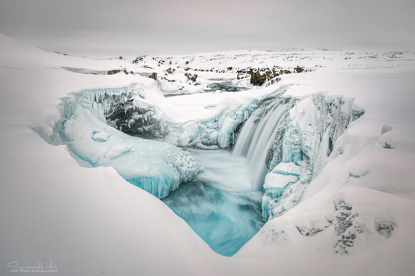 Hrafnabjargafoss Iceland