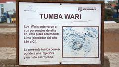 Huaca Pucllana 4 - Tumba Wari 1