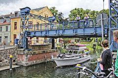 Hubbrücke  in Plau am See