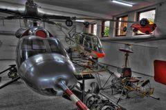 Hubschrauber Museum Bückeburg