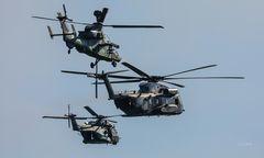 Hubschrauber-Trio