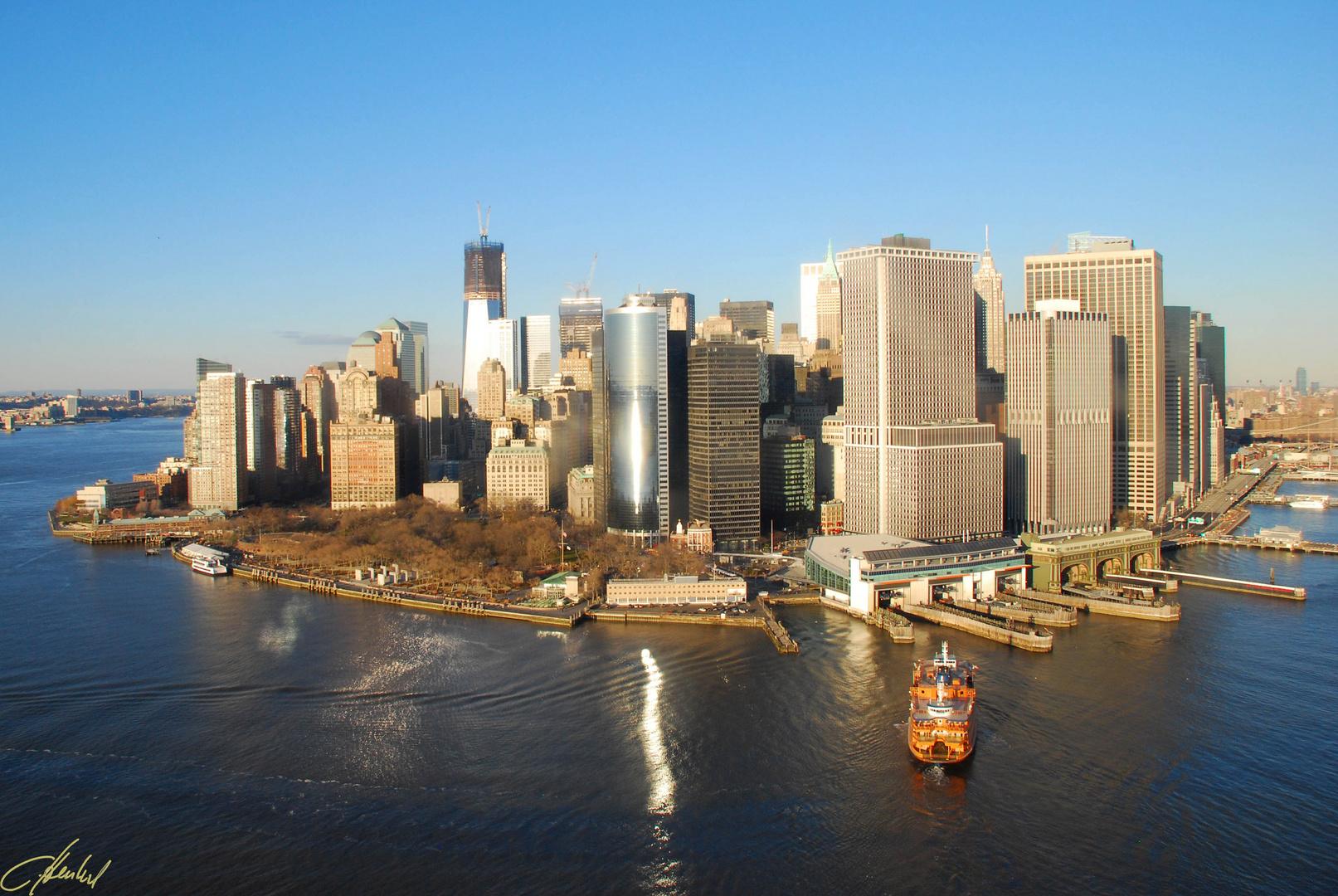 Hubschreuberflug New York City