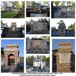Hué - Grabanlage des letzten Kaisers von Vietnam Tu Duc und seiner ersten Frau