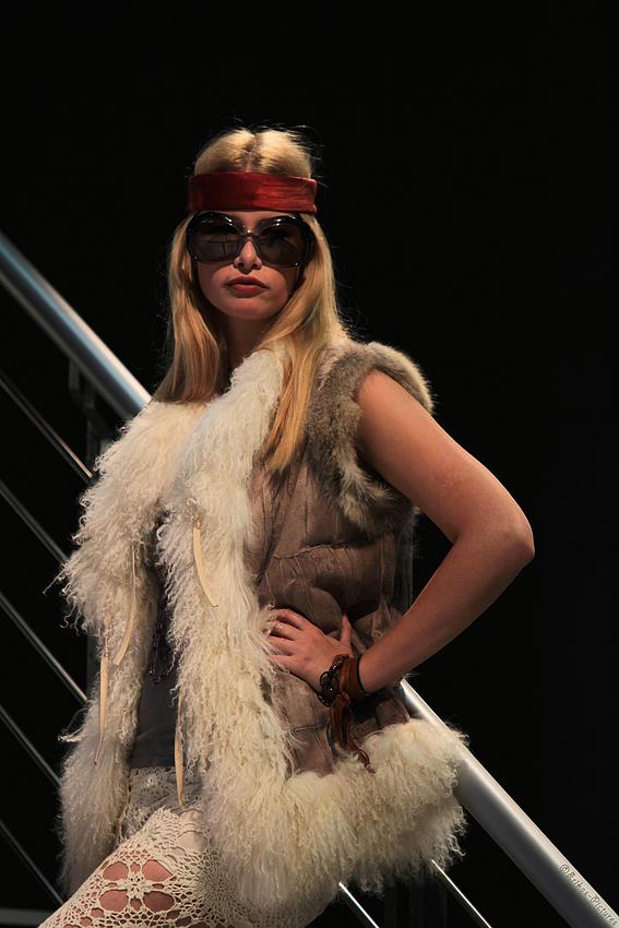 Hübsches Model Photokina 2010