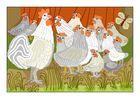 Hühnervolk