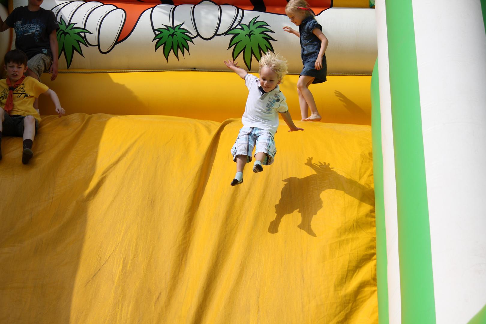 Hüpfburg, Sommerfest 2012