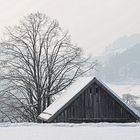 Hütte als Schutz