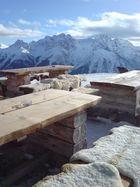 Hütte bei Motta Naluns, Scuol (CH)