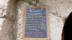 Hütten-Menü