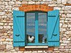 ...Huhn im Fenster !!!..