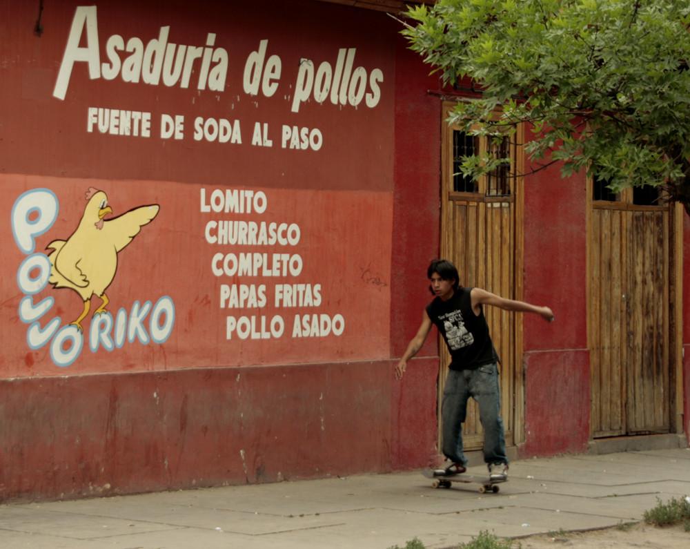 Huhn und Hühnchen in Los Andes ;-))