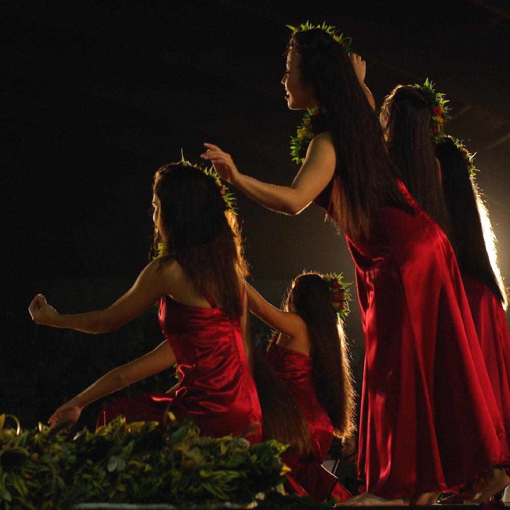 Hula-Tänzerinnen