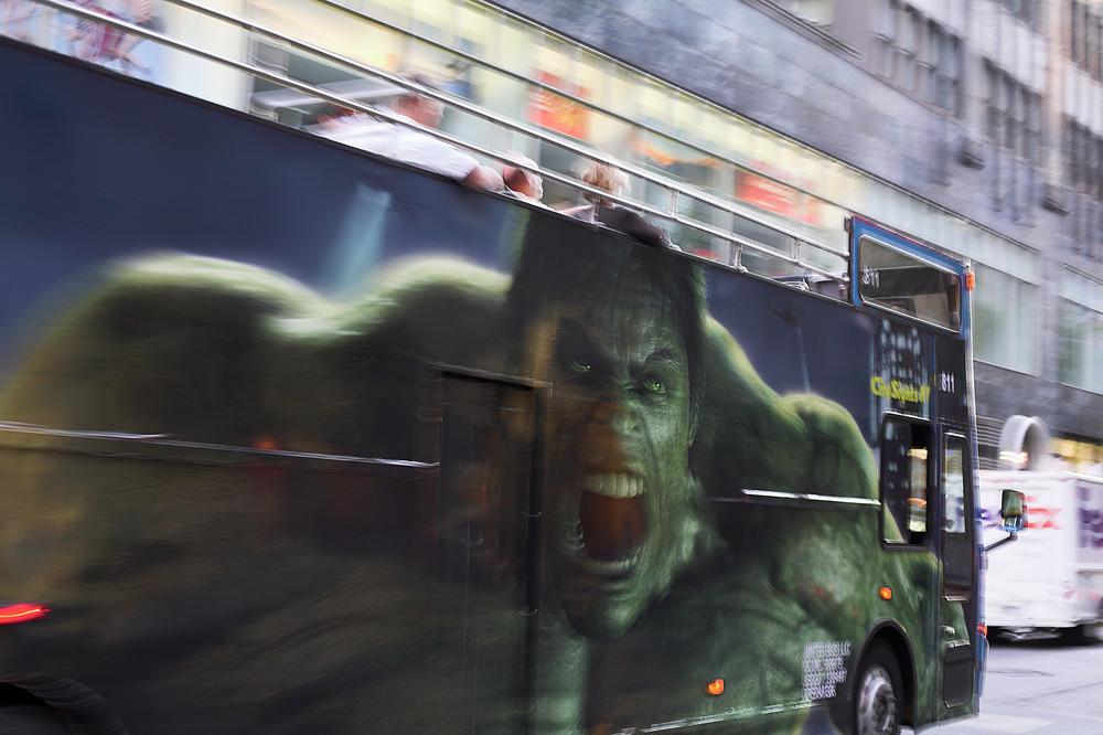 Hulk is in NY!